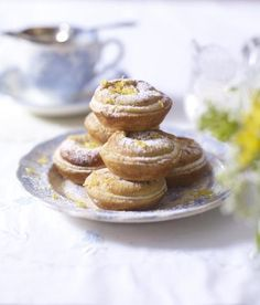 Maids Of Honor Recipe From Retro Cakes And Cookies By Wendy Sweetse (projectfoodie) | These almond and lemon tartlets, with their crisp puff pastry crust, have been a teatime favorite in Britain since Tudor times. They are best eaten on the day they are made, but can be stored in an airtight container for 2–3 days.