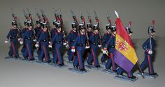 Milicia Nacional de Madrid 1931-36 en 45 mm. http://vintagetoysoldiers-bravo.blogspot.com.es/ COMPTE
