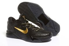 """Nike Kobe VII Elite Black/Gold """"Away""""  ... This shoe is awesome, but it doesn't come cheap. When ..."""