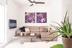 Salas de estilo minimalista por Markham Stagers