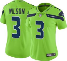 Nike Women s Color Rush Limited Jersey Seattle Russell Wilson  3 be067f5e2