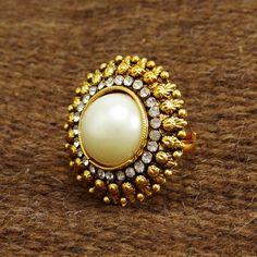 Gold Plated Ring Designer Wedding Jewelry | £5.03