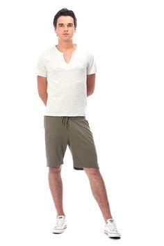Купить трикотажные мужские шорты
