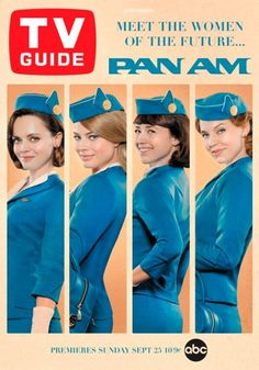 Pan Am TV Guide!  Love it.  I remember getting the TV Guide every week.