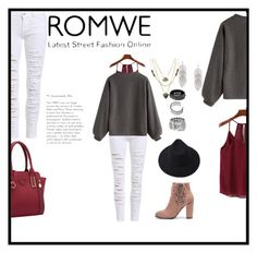 """""""Romwe #1"""" by asheschavon ❤ liked on Polyvore"""