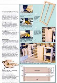 Dresser Plans - Furniture Plans