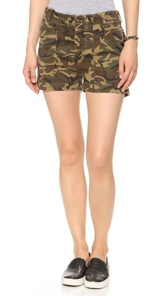 High-Waisted #Camo Shorts | Started From The Bottom | Pinterest ...