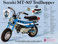 Suzuki Trailhopper https://plus.google.com/+JohnPruittMotorCompanyMurrayville/posts