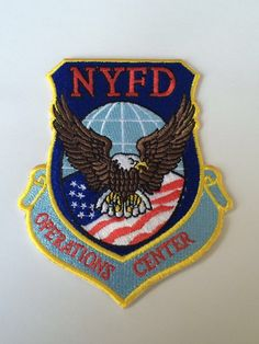 New York City Fire Department Operations Center Patch.