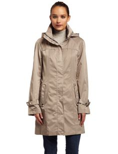 Amazon.com: Calvin Klein Womens Long Packable Anorak: Clothing