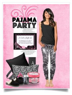 """""""Bachelorette Pajama Party"""" by sgolis ❤ liked on Polyvore featuring Pink Lotus, Marc Jacobs, SOREL, bride, zazzle and invitation"""