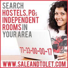 http://www.saleandtolet.com/ रूम किराये पर चाहिए? प्रॉपर्टी खरीदनी और बेचनी है? INDIA में कही भी और कभी भी,  फ्री हेल्पलाइन लाइन नंबर कॉल 077-33-0000-17