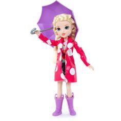 Moxie Girlz Raincoat Color Splash Avery Doll: Dolls & Dollhouses : Walmart.com