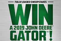 Enter now for your chance to win a brand new 2019 John Deere