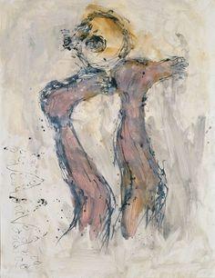 Georg Baselitz, Fridas Traum (2001), via Artsy.net