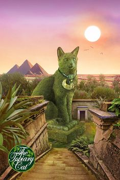 https://flic.kr/p/JDVbPp | The Topiary Cat in Egypt