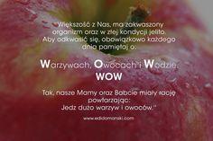 Każdego dnia  #Odkwaszaj swój organizm!   Jedz dużo   Warzyw Owoców oraz pij dużo  Wody  ➡️ WOW ⬅️   Edi   ➡️ www.edidomanski.com ⬅️  #Odkwaszanie #Organizmu #Najważniejsze #Dla #Ciebie #Warzywa #Owoce #Woda #EdiDomański #EdiZdrowie #Zdrowie #EdiCiało #Ciało  #EdiUmysł #Umysł #ZdrowieCiałoUmysł #Motywacja