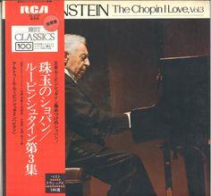 SX 2737 ※ RUBINSTEIN:Chopin.肖邦.珠玉のショパン/ルービン・シュタイン 第3卷 @1975