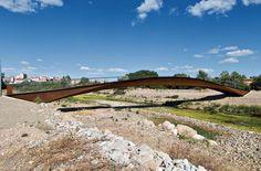 Anta   Vía Verde Footbridge over the river Cidacos in Calahorra