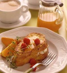 French Stuffed Toast RECIPE