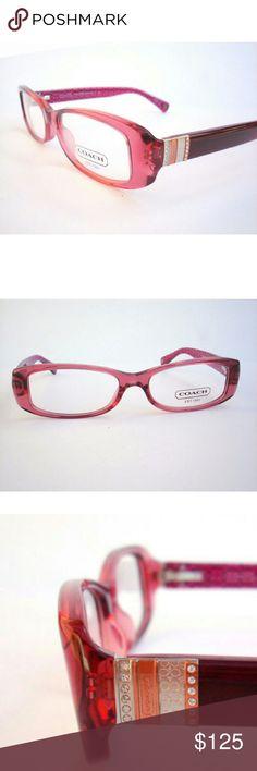 Coach Eyeglasses Authentic Coach Eyeglasses  Burgundy frame  49-15-135 Includes original case Coach  Accessories Glasses