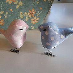 nice fabric birds