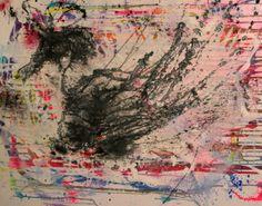 Phoenix 2 Acrylic and ink Ink Painting, Phoenix, My Arts