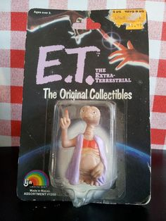 1982 Vintage E.T The Extra Terrestrial original by yesTOYyear, £8.99