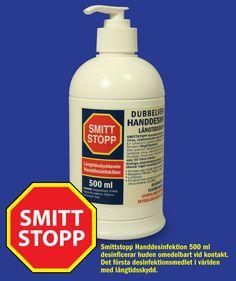 Smittstopp katjonisk Handtvål 500 ml Soap, Bottle, Flask, Bar Soap, Soaps, Jars