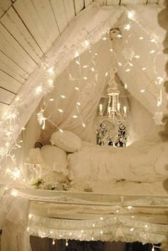 "If Ellie says ""Mommy I want a fort made for a princess"" this is what I'll personally make for her. I love my baby."