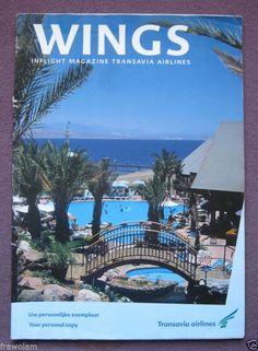 INFLIGHT MAGAZINE - TRANSAVIA AIRLINES - VOL.8 No.1 ± 1997