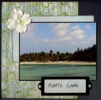 Gallery Projects - Scrapbooking - punta cana - Two Peas in a Bucket