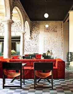 Old and new blend beautifully at the Downtown México, where the breakfast room turns into a buzzy cocktail lounge come nightfall.More on Mexico City:Mexico City's Magic MomentTravel Guide to Mexico City: The Best Hotels and Restaurants