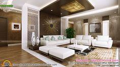 Attractive Interior Designs Of Living Room, Bedrooms And Foyer By Square  Drive Living Spaces, Cochin, Kerala