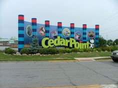 Cedar Point in OH. This is our family vacation for 2014! Rollercoaster Capitol of the World! Yeah, baby! :)