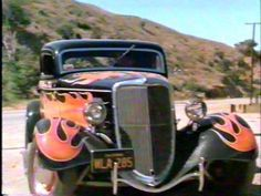"""1934 Ford 3-window Coupe in """"The California Kid"""""""