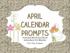 ... on Pinterest | April showers, April fools day and Writing prompts