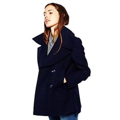 This peacoat is great for spring!