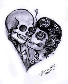 tattoo couple | cute-tattoo