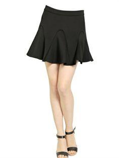 Rebecca Minkoff Neoprene Godet Skirt on shopstyle.com