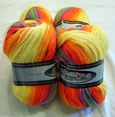 Batik design baby friendly hypoallergenic soft yarn by HandyFamily, €4.40