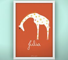 """Our giraffe is described as """"stunning"""" on the Disney baby website. Thank you!"""