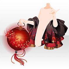 上半身/ジャケット・コート 彼岸灯明と遊びの手赤 Character Outfits, Character Art, Character Design, Amazing Drawings, Cute Drawings, Pomes, Kimono Design, Anime Dress, Cocoppa Play