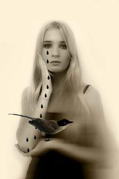 """CENTRO CULTURAL RECOLETA - Zulema Maza """"Delfina con lágrimas"""", fotografia"""