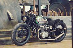 It's not a Zündapp, it's a Honda CB550
