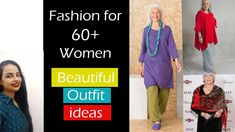 Let's plan new looks for the elder women in our families New Look, That Look, Fashion Basics, Find Us On Facebook, Basic Style, Families, Beautiful Women, Indian, Let It Be