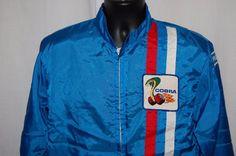 Vtg Ford Cobra Shelby Racing Jacket Medium Windbreaker Snake Racing in Clothing, Shoes & Accessories, Men's Clothing, Coats & Jackets | eBay