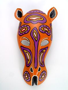 Research-African animal mask