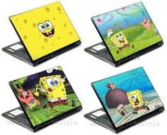 OMG!  What is better than a sponge bob computer skin!  So cool!