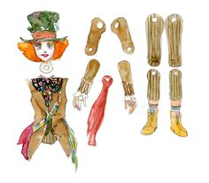 Hatter Paper Doll Design by ~amoykid on deviantART http://www.pinterest.com/pearlswithplaid/paper-dolls-for-real/
